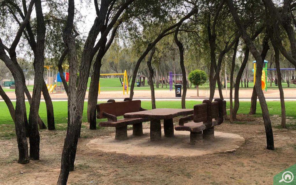 حديقة صقر قرب كورنيش رأس الخيمة