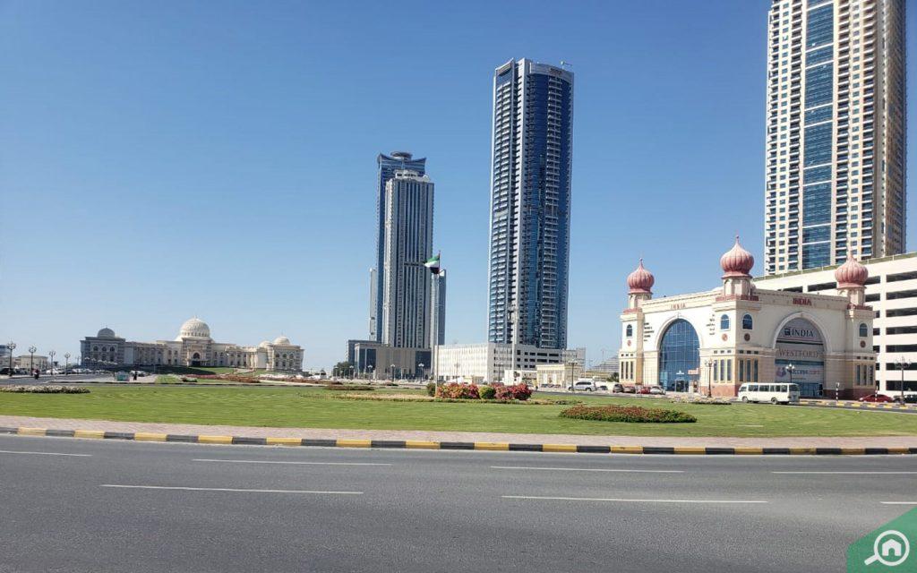 Al Mamzar Sharjah street view