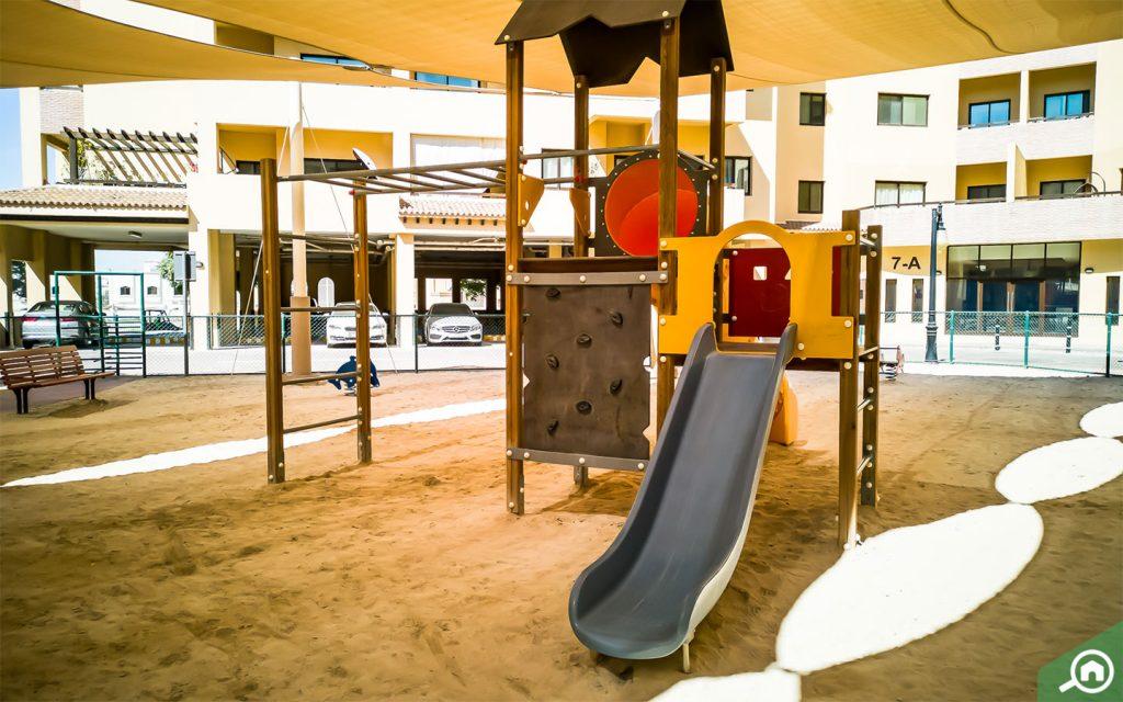 منطقة لعب مخصصة للأطفال