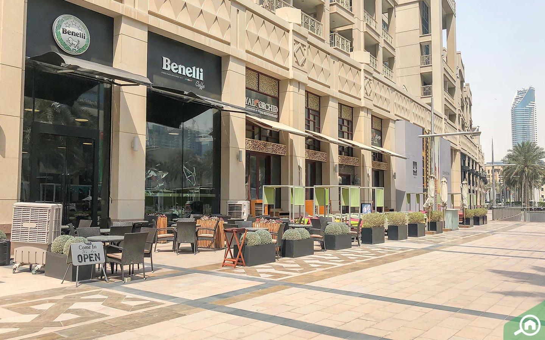 مطاعم المدينة القديمة دبي