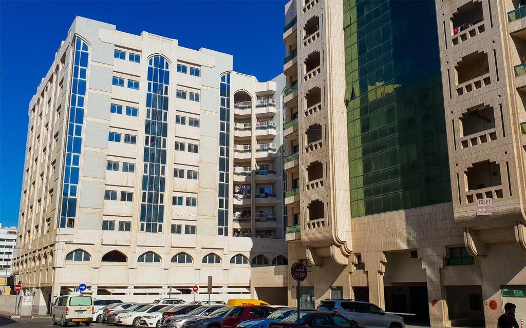 Al Rigga buildings