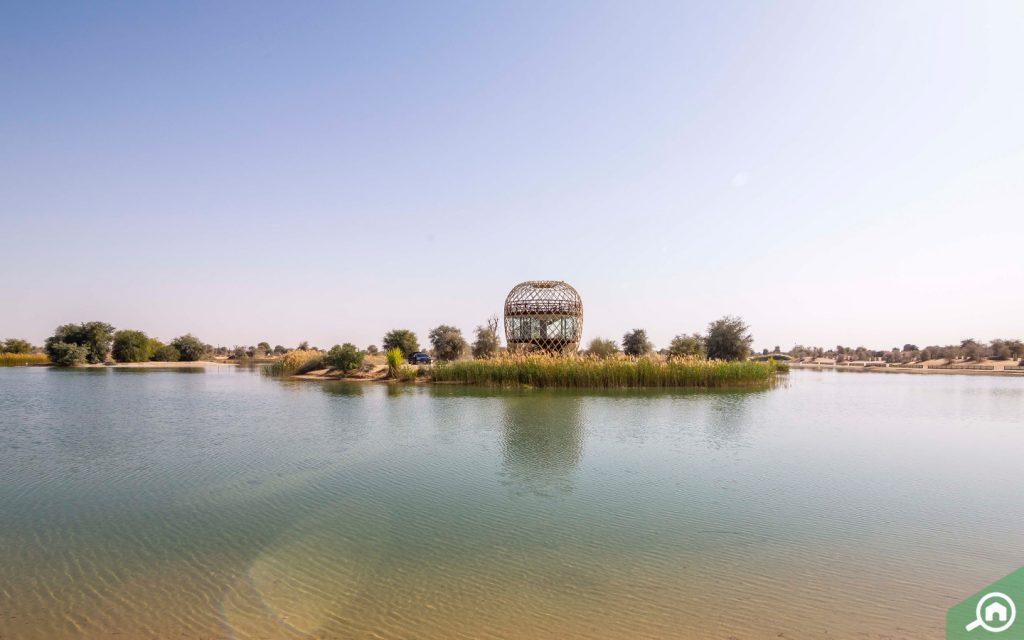 بحيرات القدرة دبي