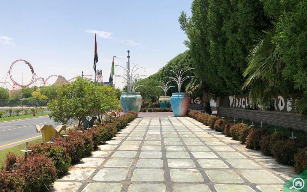 miracle garden near district 3c