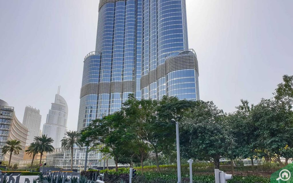 burj khalifa boulevard
