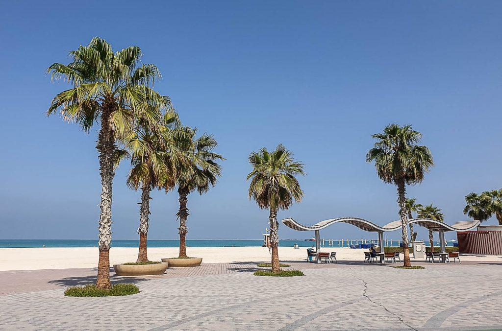 jumeirah beach near burj khalifa