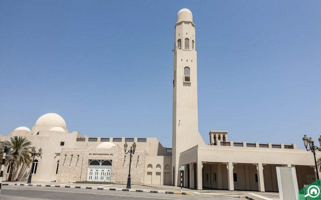 مسجد في النخيلات