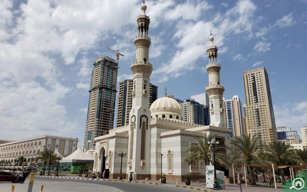 مسجد في القصباء