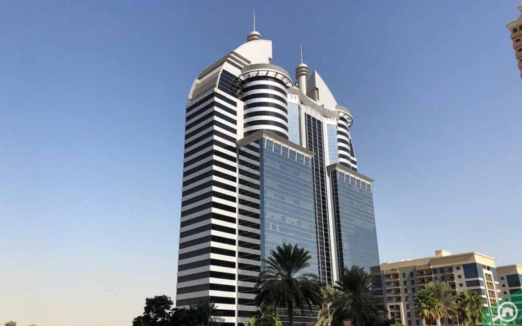 commercial building in dubai silicon oasis