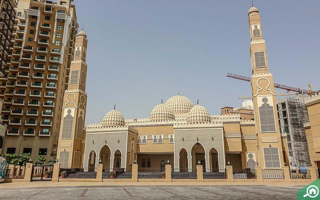 مسجد الشيخة عذيجة بنت صقر آل نهيان