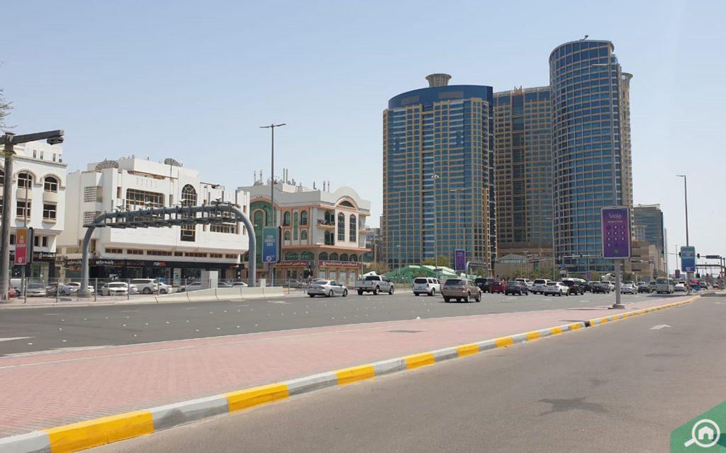 مباني شارع الدفاع