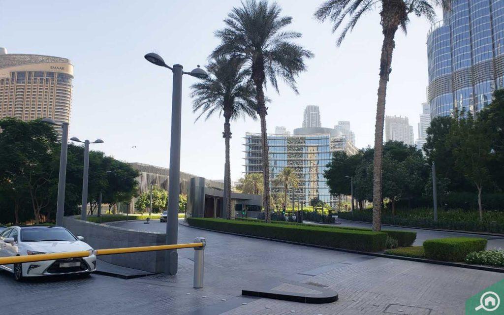 Armani Hotel in Burj Khalifa