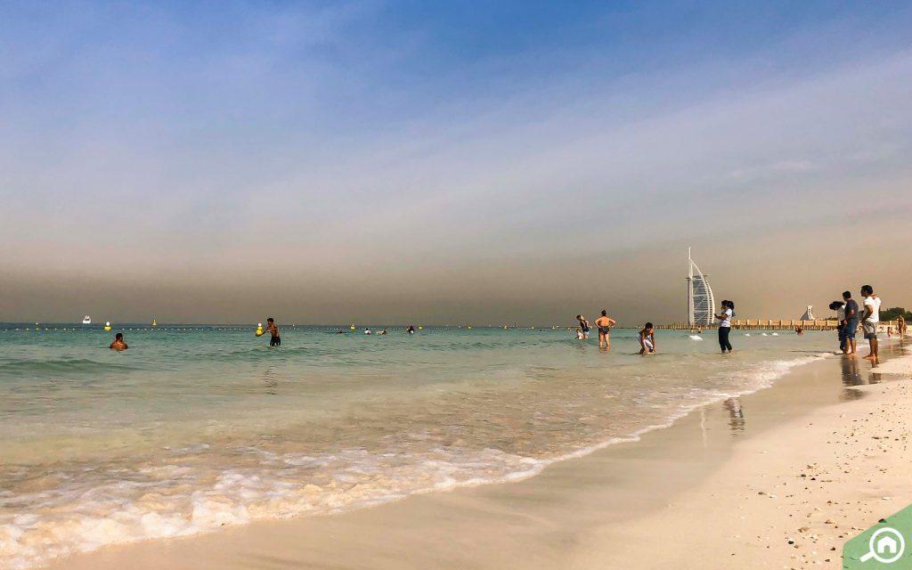 al sufouh beach near al barsha
