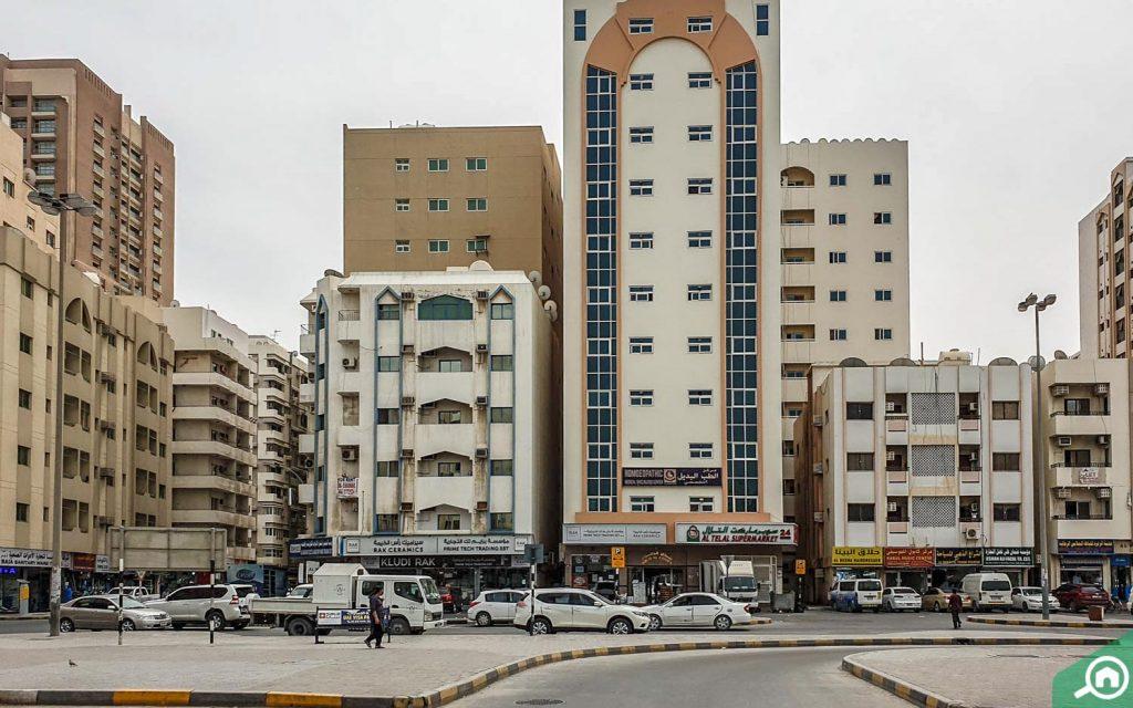 مباني متوسطة الارتفاع
