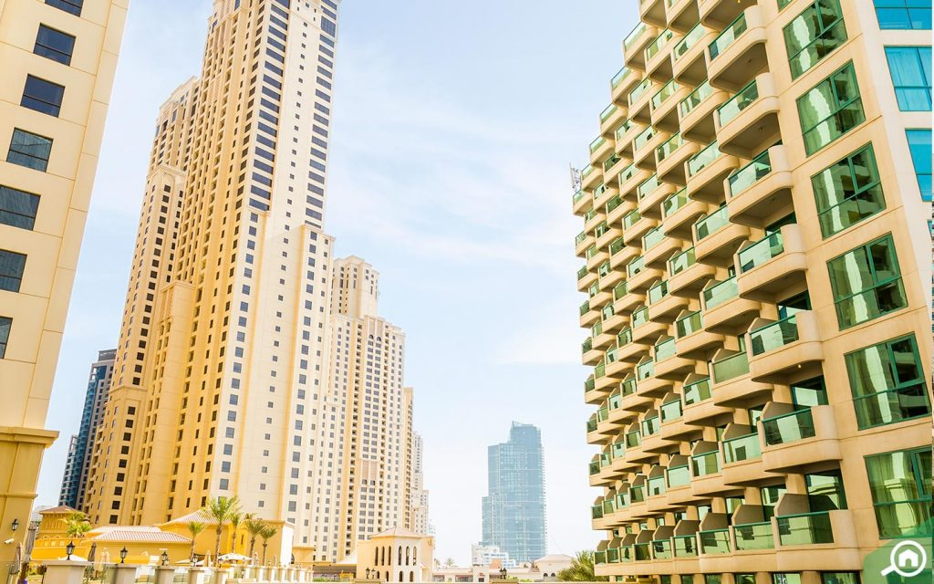 popular buildings in jbr