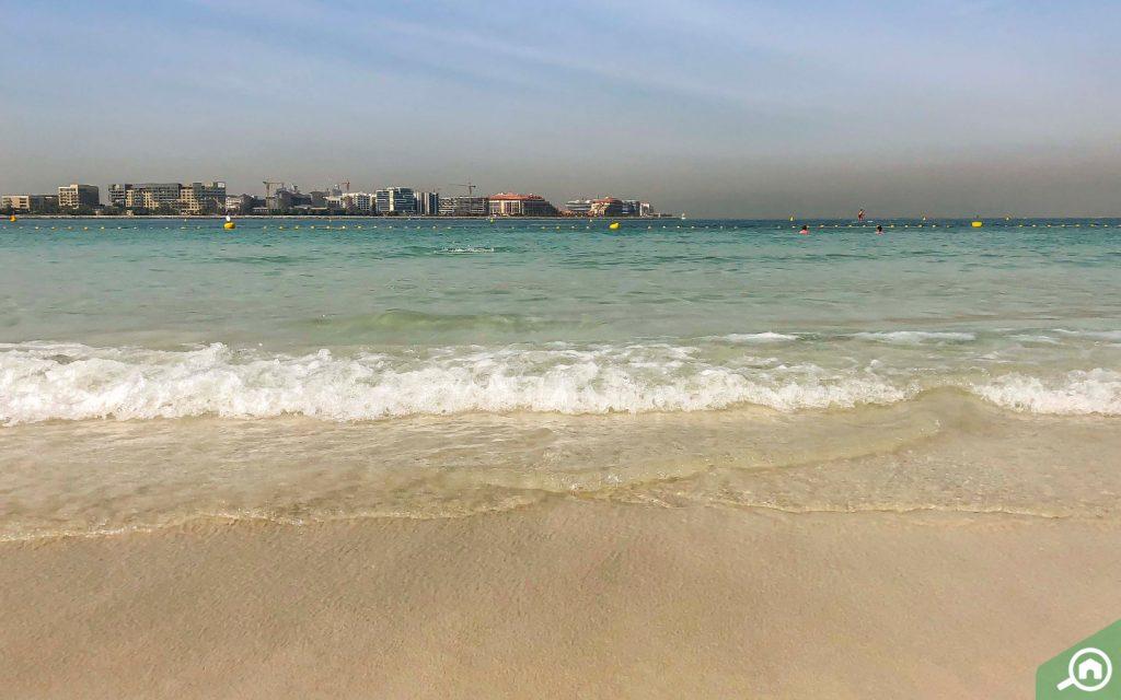 A view of Al Sufouh Beach