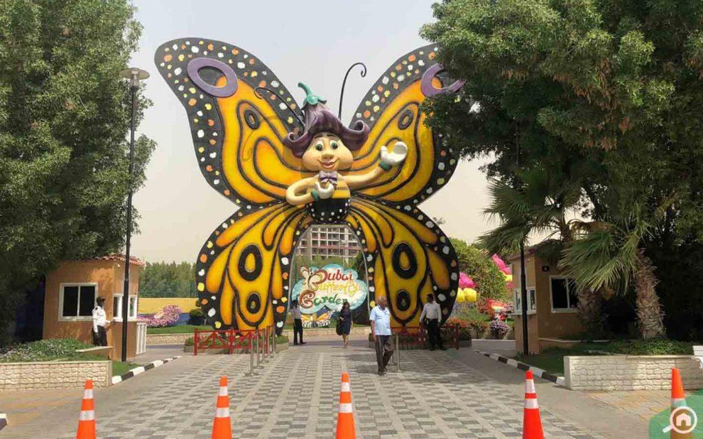 Gate of Dubai Butterfly Garden