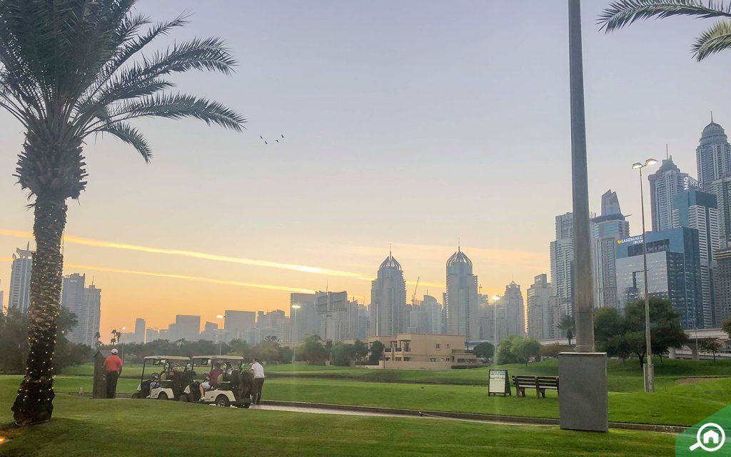 golf courses in Emirates Golf Club