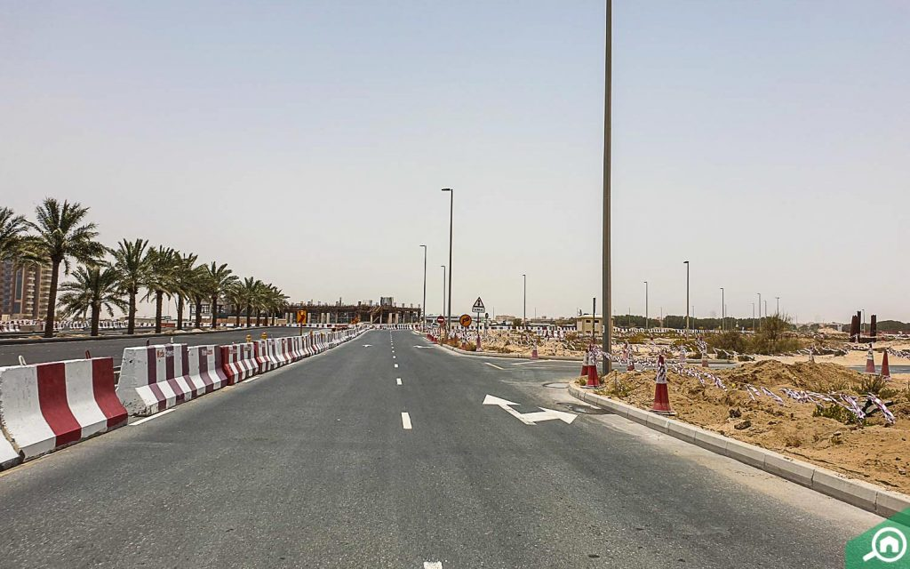 شوارع مجمع دبي ريزيدنس
