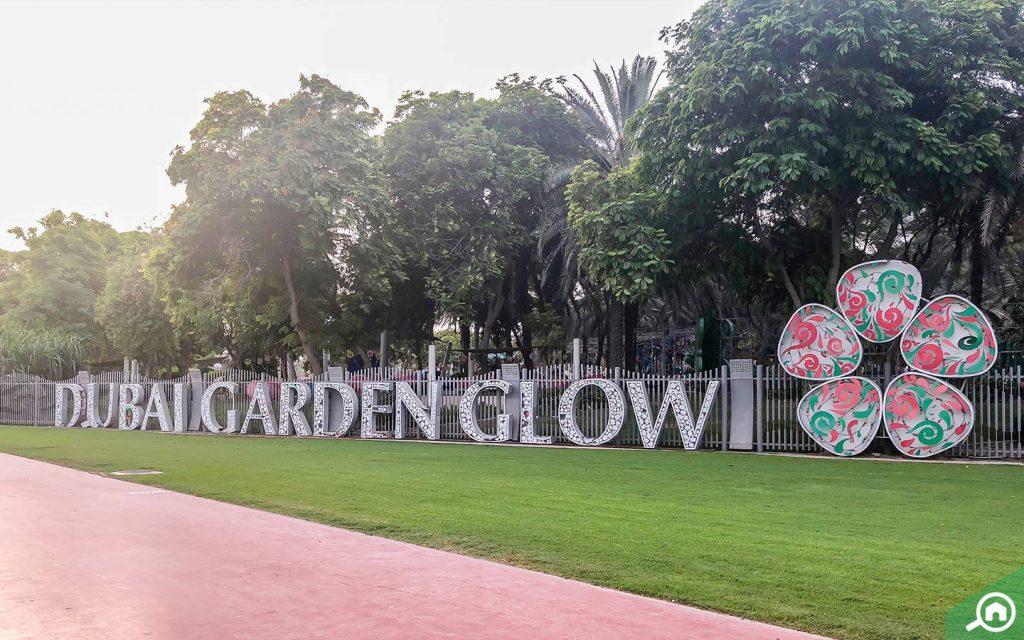 dubai garden glow near difc
