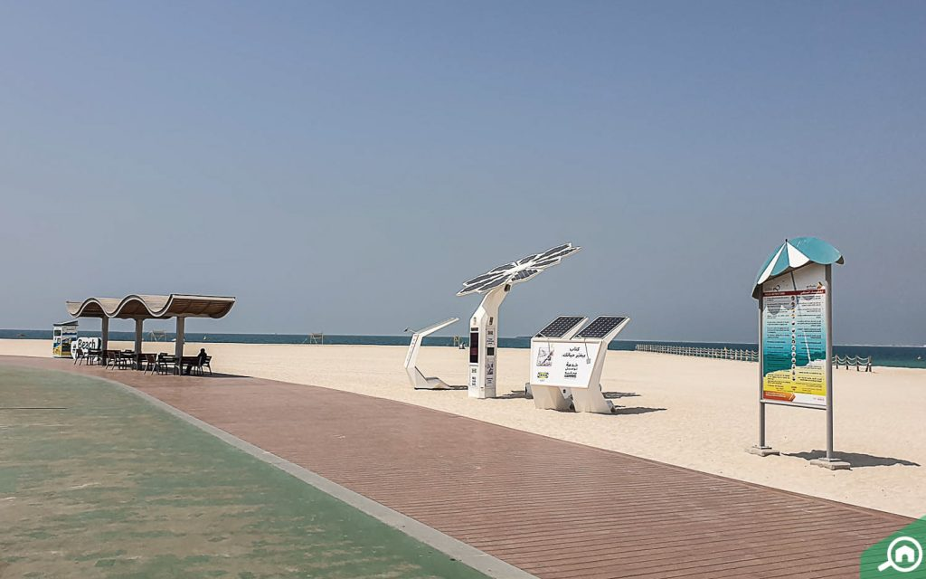 kite beach near nad al sheba