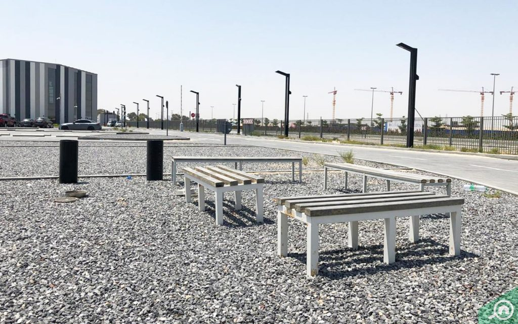 nad al sheba cycle park sitting area