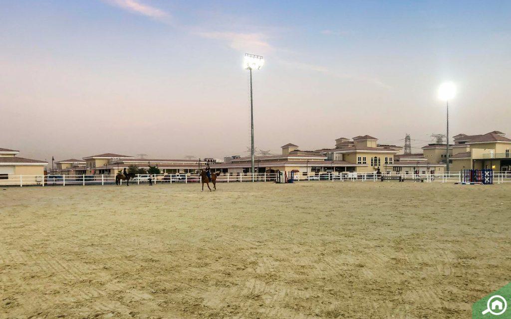 al habtoor polo equestrian and club near sustainable city