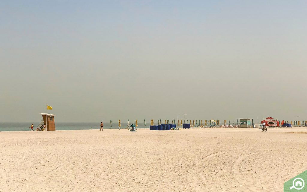 umm suqeim beach near dubai sustainable city