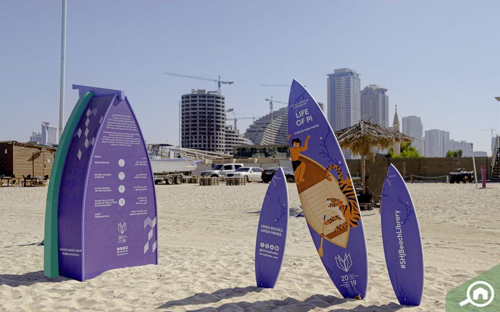 Sharjah Beach Open Library