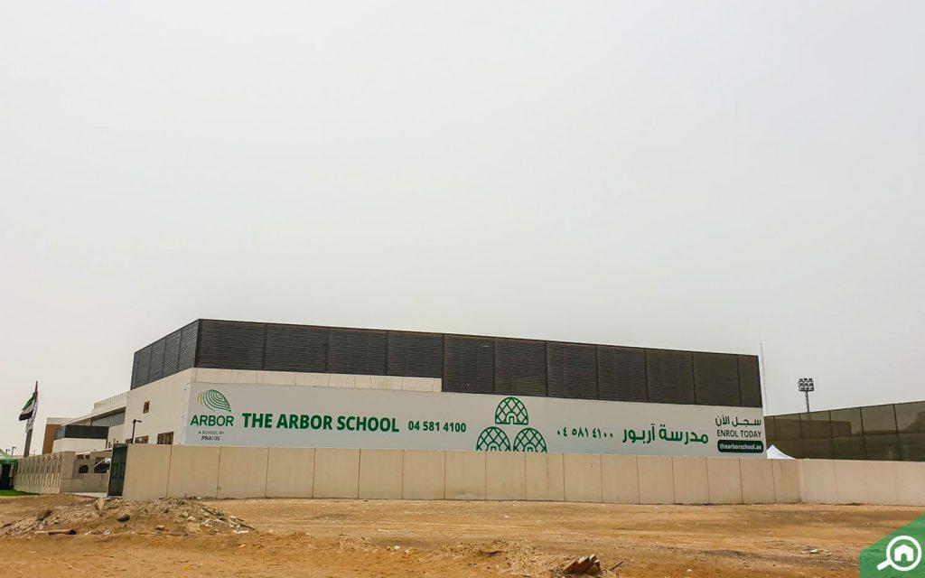 entrance of The Arbor School