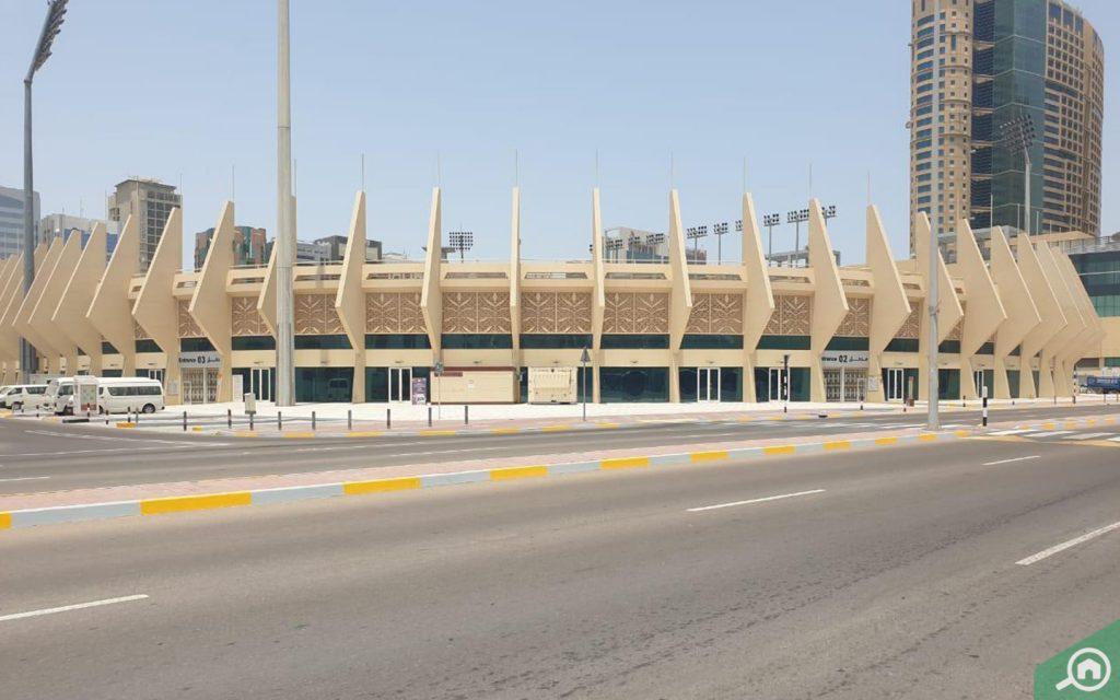 al nahyan stadium near al muroor road