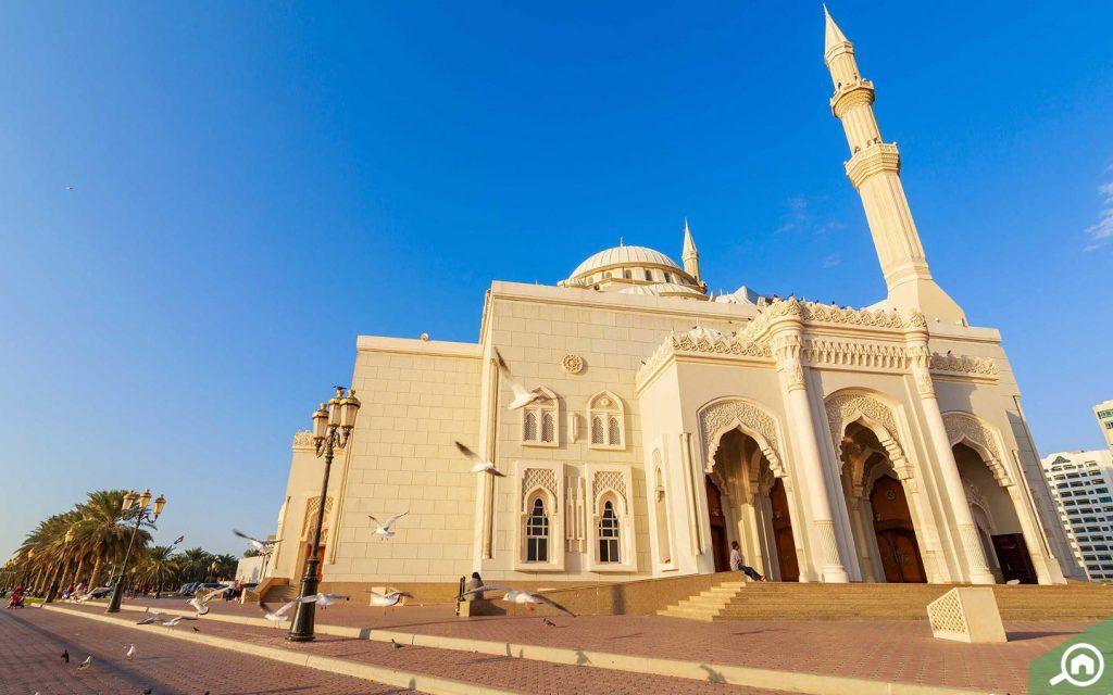 al noor mosque near al khan
