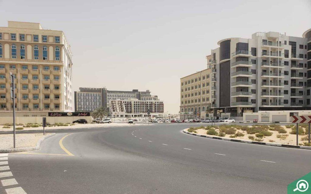 Apartment buildings in al barsha south