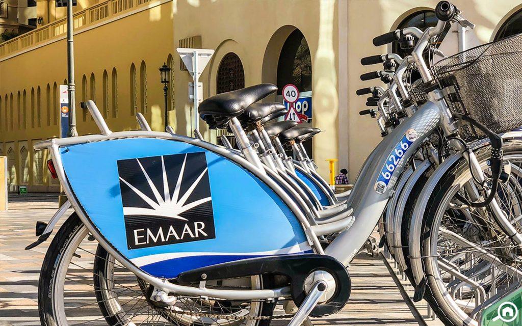 دراجات هوائية في جي بي ار