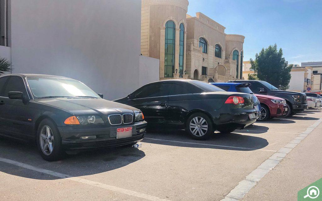 parking on al salam street