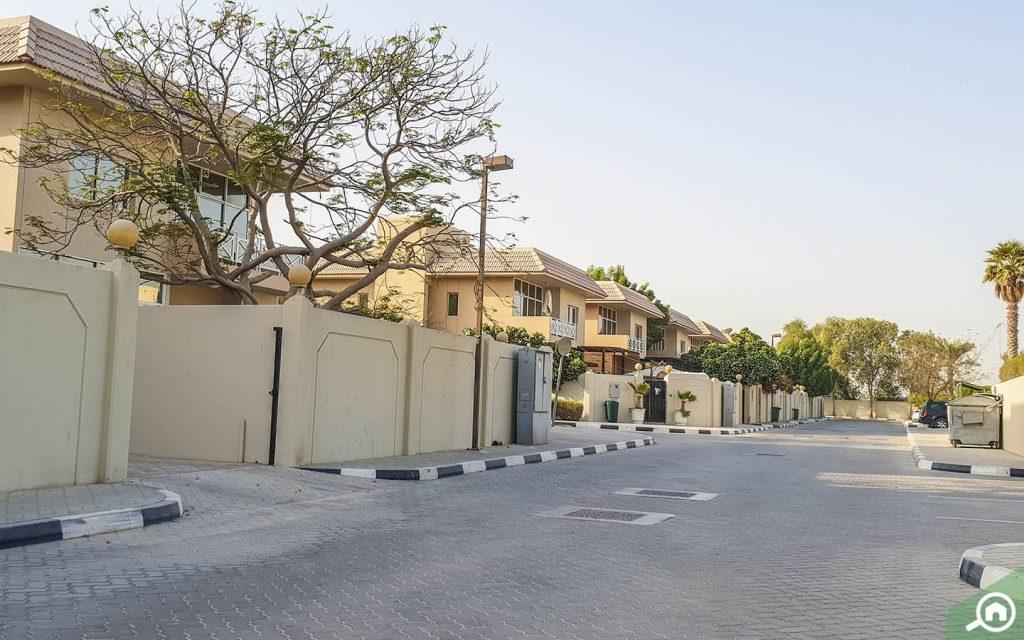 residential area in jebel ali