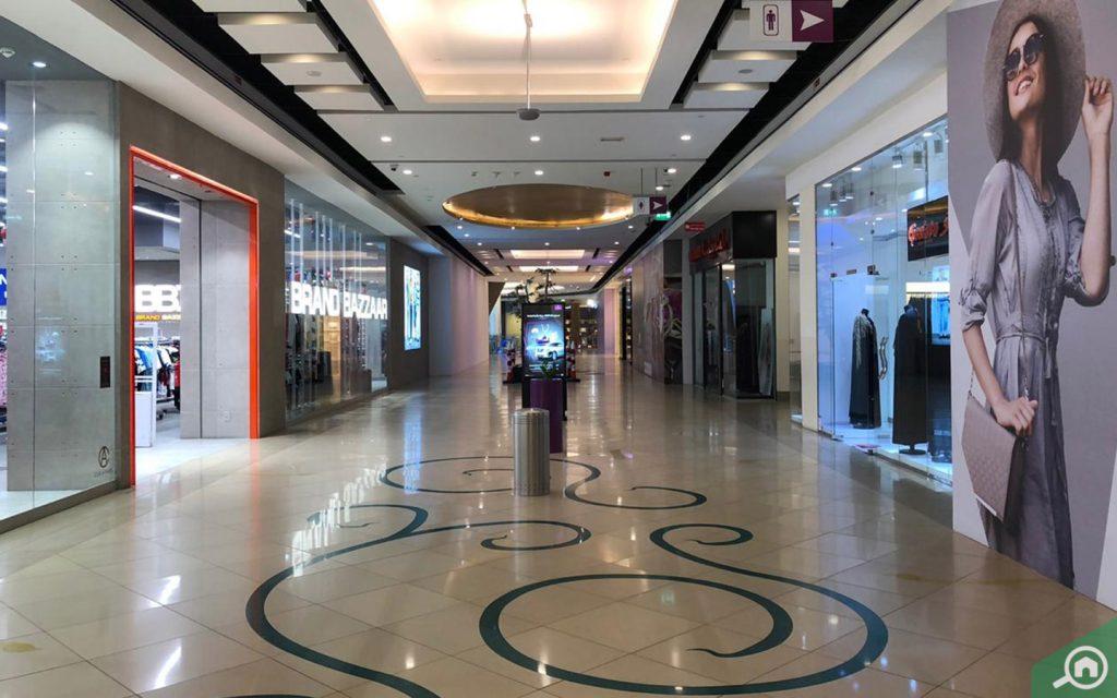 mega mall near al ghubaiba
