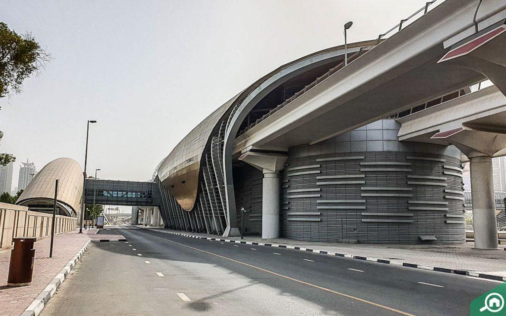 محطة مترو نخيل