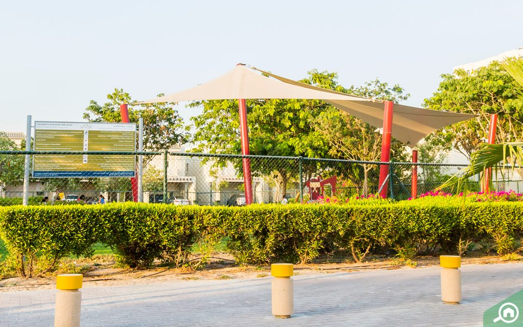 park near dubai style al furjan