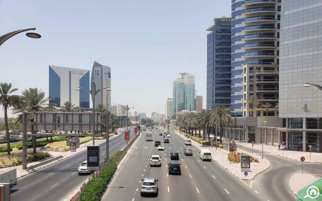 baniyas road in riggat al buteen