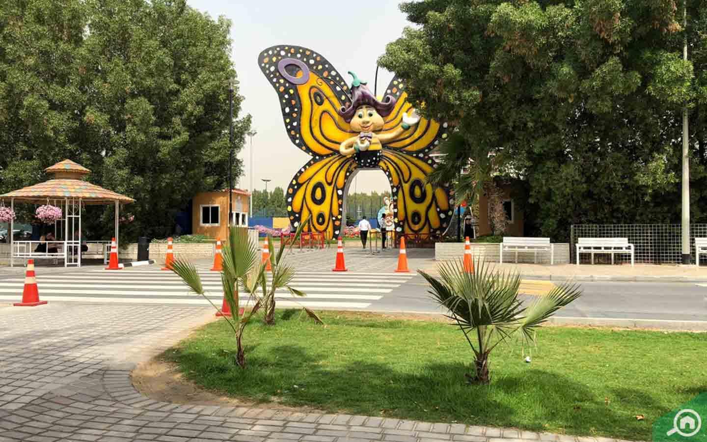 entrance of Butterfly Garden