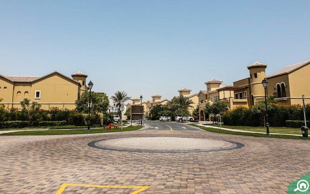 منطقة ذا فيلا في دبي