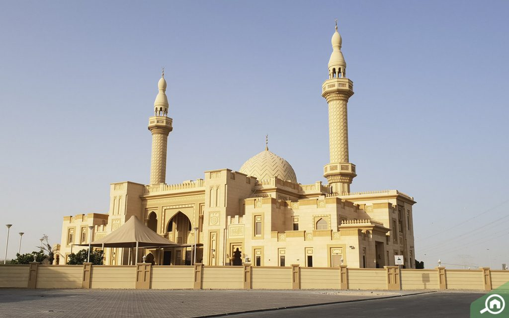 مسجد في جبل علي