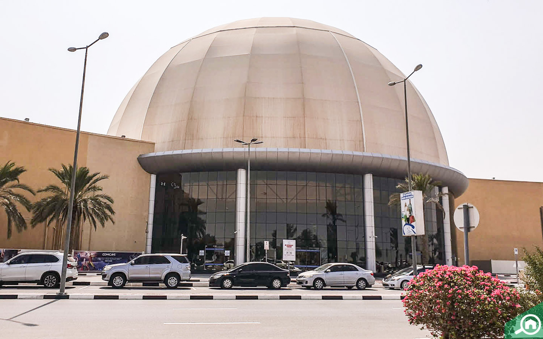 Dubai Outlet Mall entrance