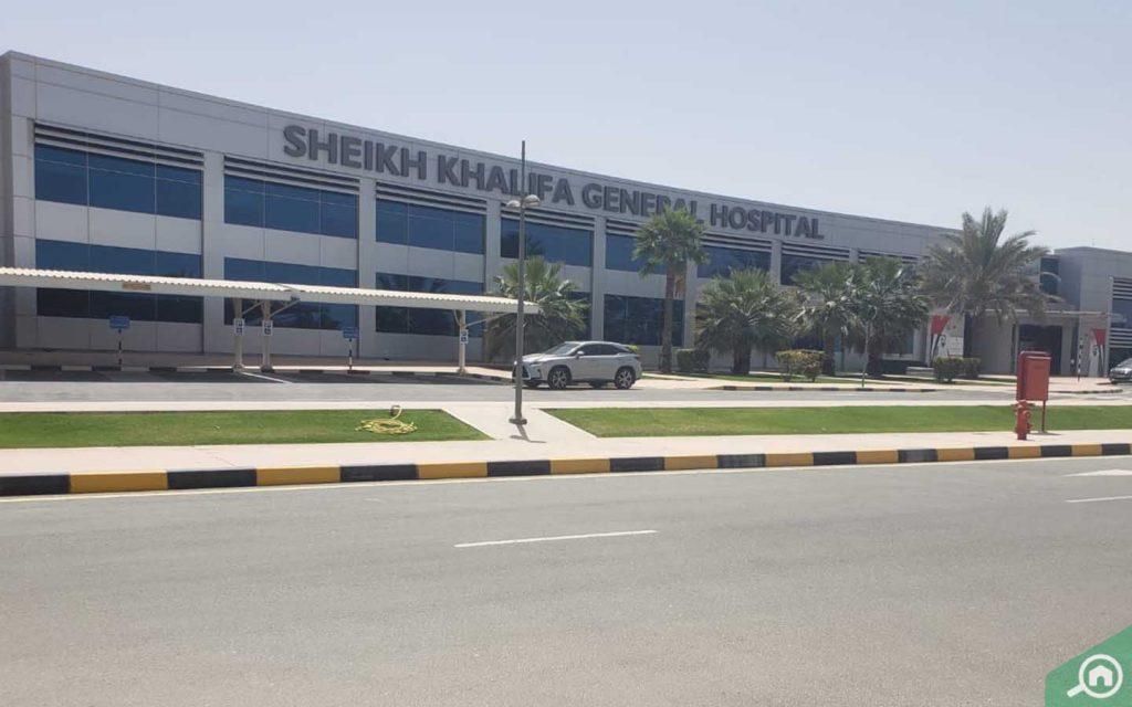 مستشفى الشيخ خليفة العام