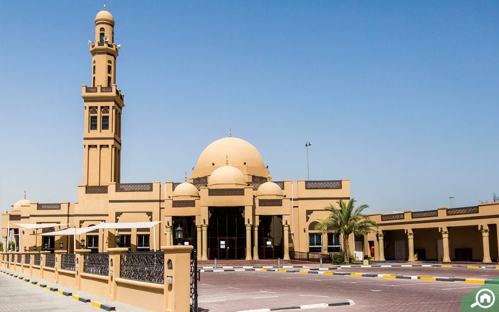 Sports City Mosque near novelia