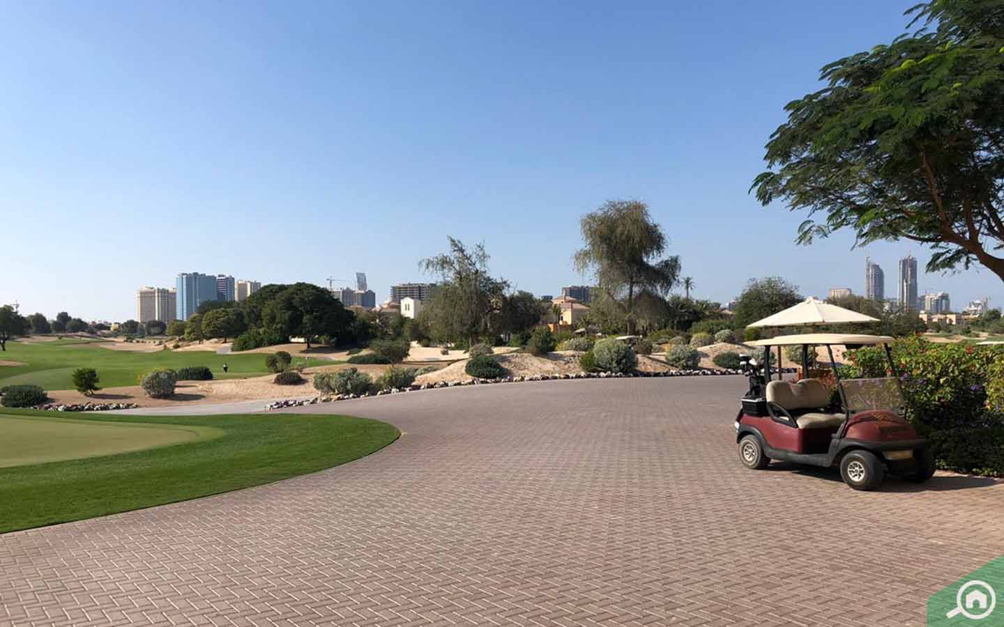 gold course at The Els Club