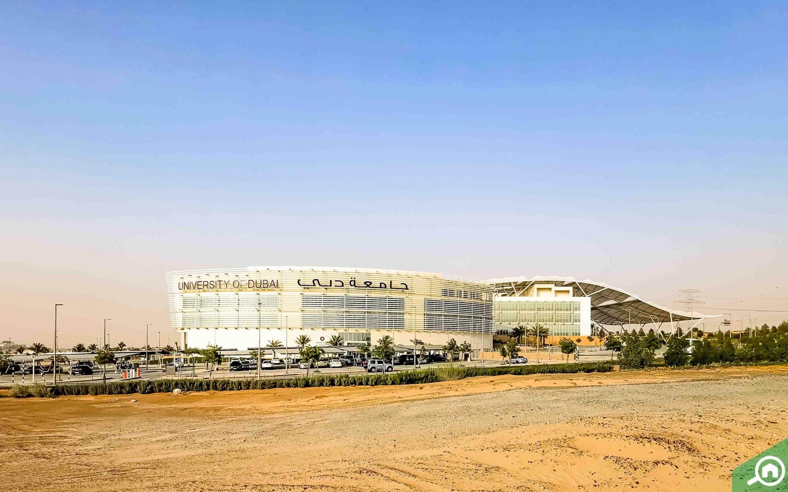 University of Dubai near La Quinta Dubailand