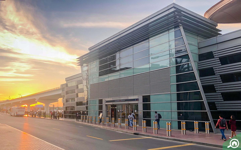 محطة مترو بنك أبوظبي الأول