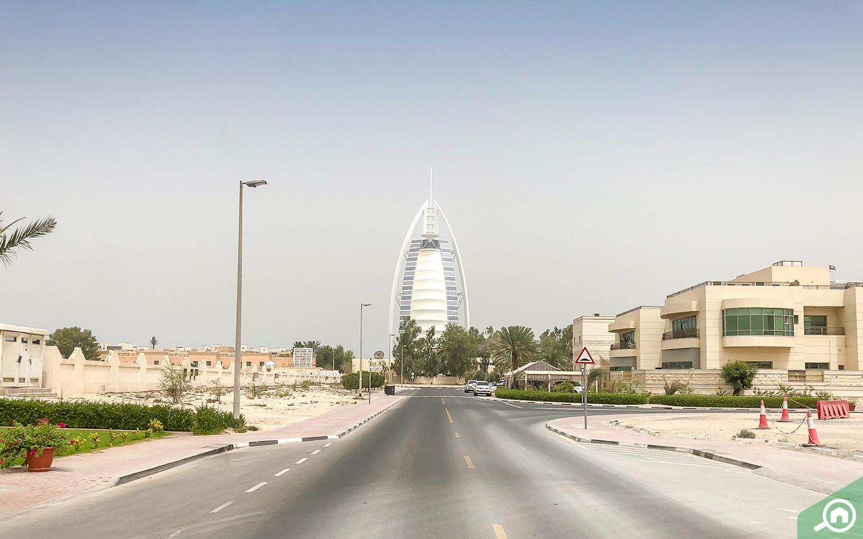 إطلالة على برج العرب
